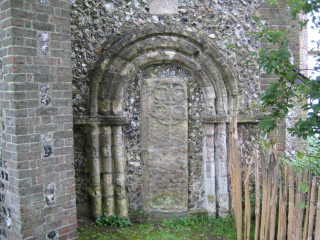 The Saxon doorway from the old church | Stuart Billington