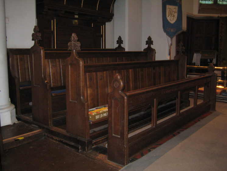 Choir Stalls | Stuart Billington