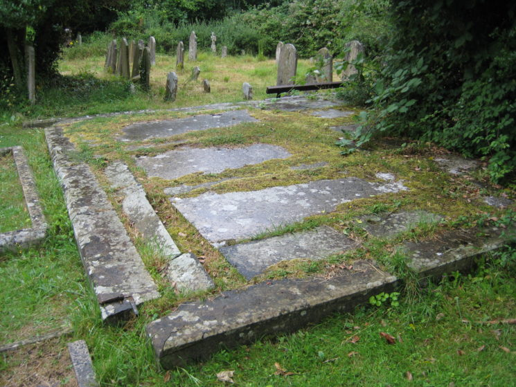 Crofts burial vaults on the site of the old Chancel | Stuart Billington