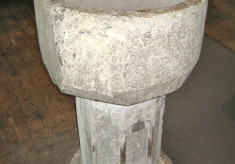 Medieval Font from the old church