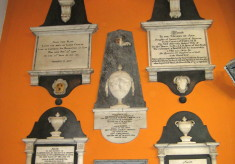 Memorials from the old church