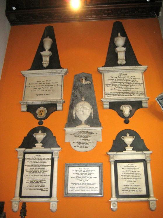 Memorials from the old church | Stuart Billington