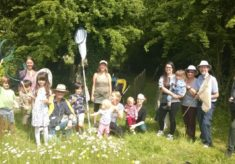 Wildlife events in the churchyard