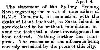 Murder of Lieut. Luckraft 2 | Sydney Evening News
