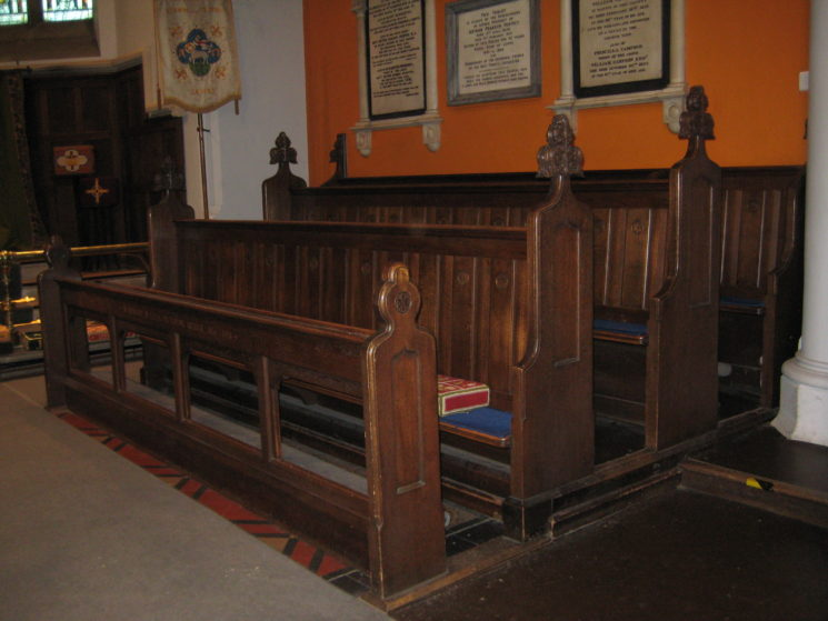 Choir stalls - South