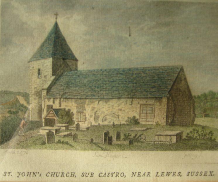 St John's Church, sub Castro, 1776 | Samuel Hooper