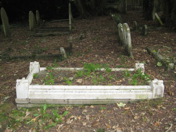 Geoffrey Turner Hotblack grave | Stuart Billington