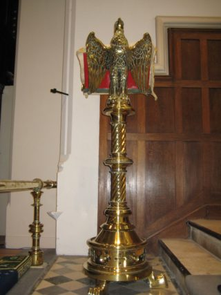 Eagle lectern | Stuart Billington
