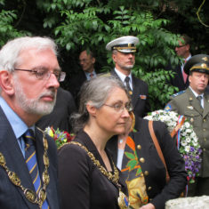 Lewes representatives at the Re-dedication of the Finnish Memorial | Finnish Embassy