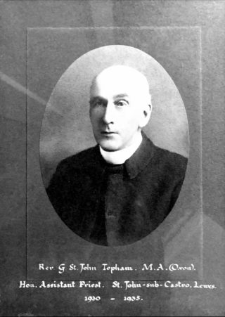Rev. G St. John Topham - Curate 1930-1935 | Nathan Gouveia, original not known